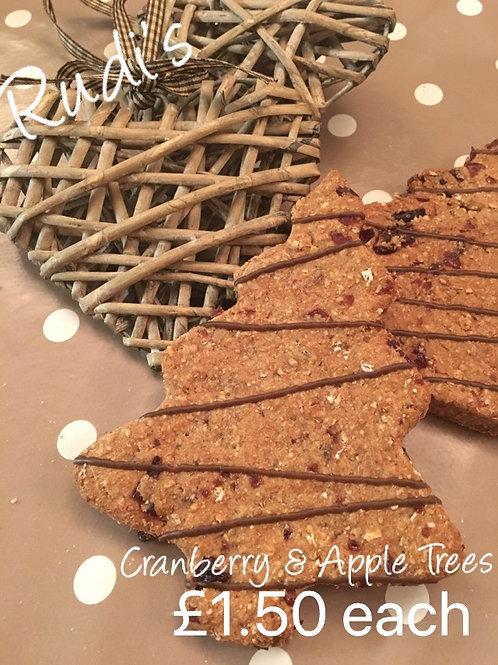 Cranberry & Apple Tree Cookie