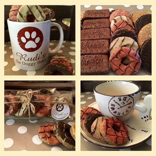 Pawty Rings-The Great British Dog Biscuits