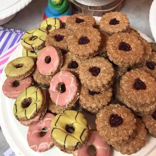 Pawty Rings -  The Great British Dog Biscuit