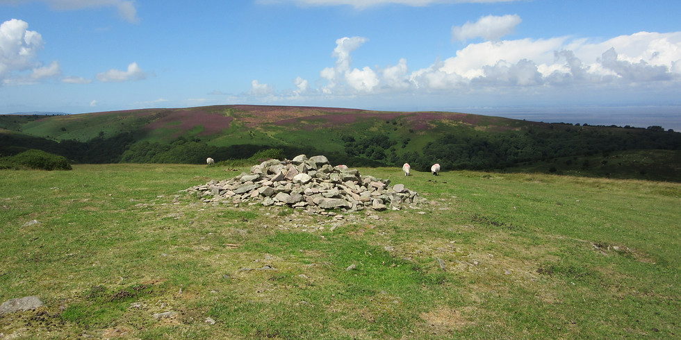 Walk 5. Ancient Quantock Burials and Fortifications - 6 miles / 4 hours