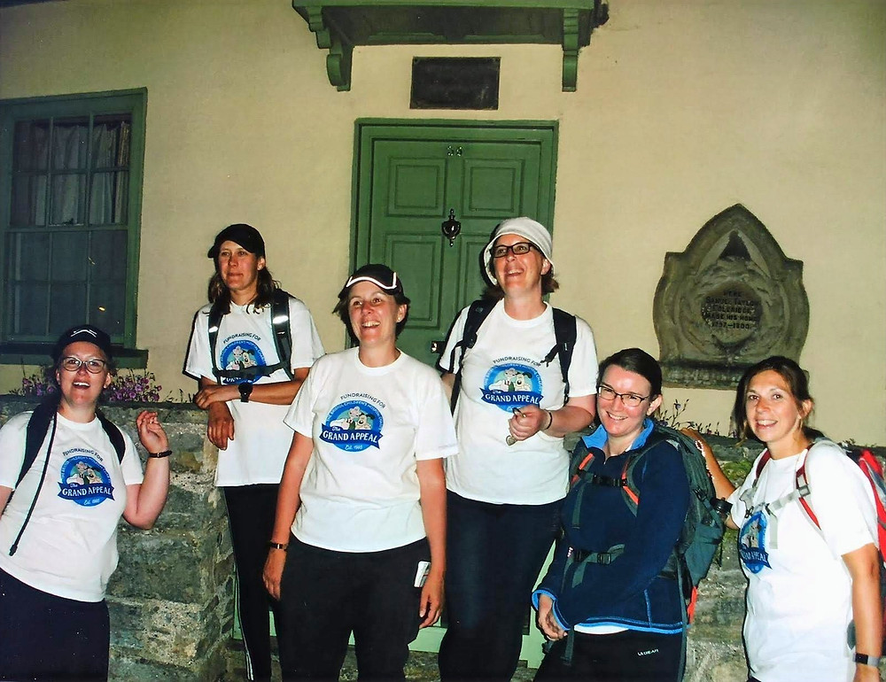 Our exhausted heroines reach Coleridges Cottage in Nether Stowey