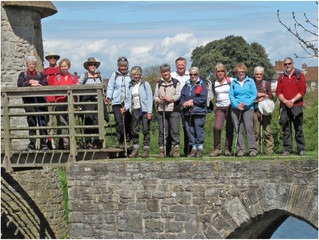 Walking with the University of the Third Age (U3A) Bridgwater Branch