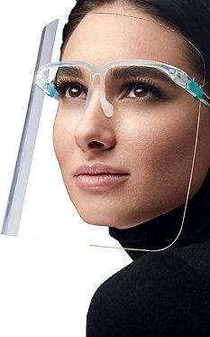 Fashionable Face Shield, Full Face