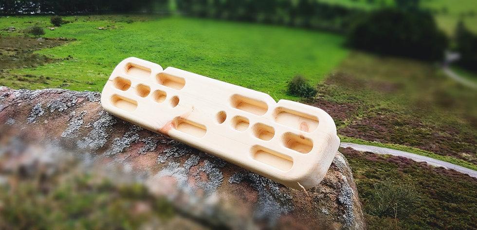 Wooden Customised Training Hangboard