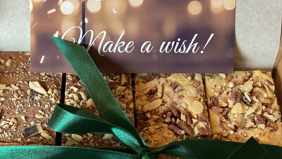 Happy New Year! Brownie box 2 pers