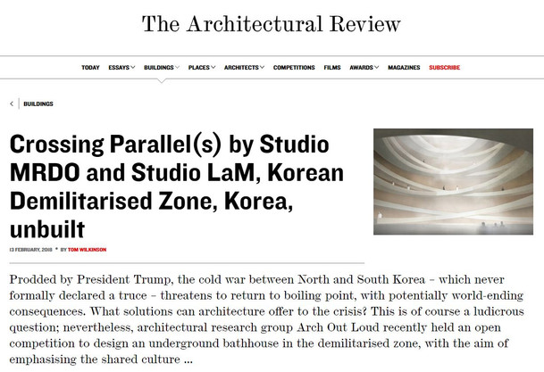 Publication: Crossing Parallels on Architectural Review