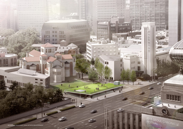 First Prize: Sejong-daero Historic Cultural Space Design Competition