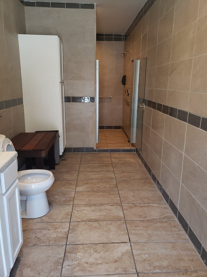 Truck stop with showers and bathrooms ne