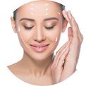 cosmético para o rosto