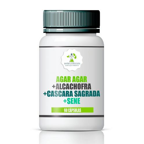 Agar Agar + Alcachofra +  Cascara Sagrada + Sene