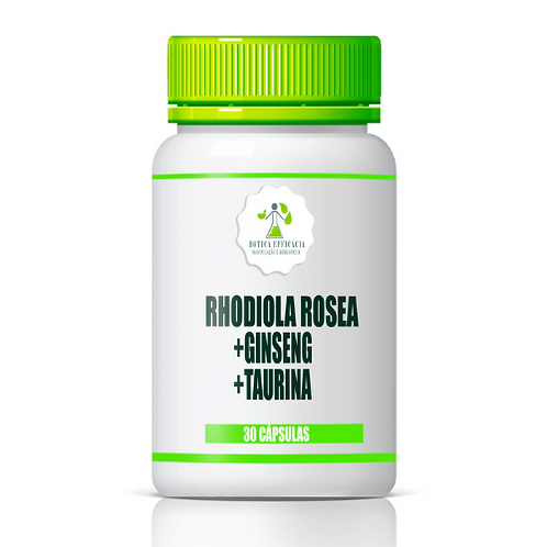 Rhodiola Rosea + Ginseng + Taurina