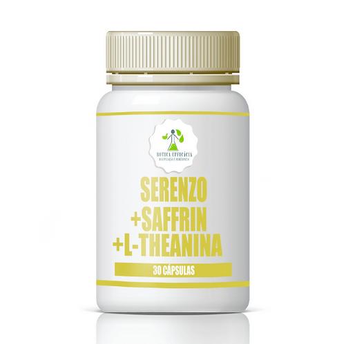 Serenzo + Saffrin + L-Theanina