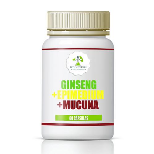 Ginseng + Epimedium + Mucuna