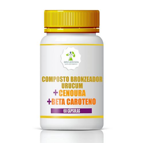 Composto Bronzeador  Urucum + Cenoura + Beta Carote