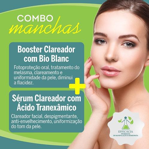 Booster Clareador com Bio Blanc + Serum Clareador com Ácido Tranexâmico