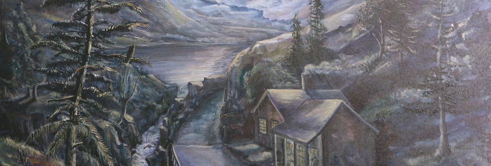 """""""View From The Porch"""" 36""""x24"""" on canvass."""