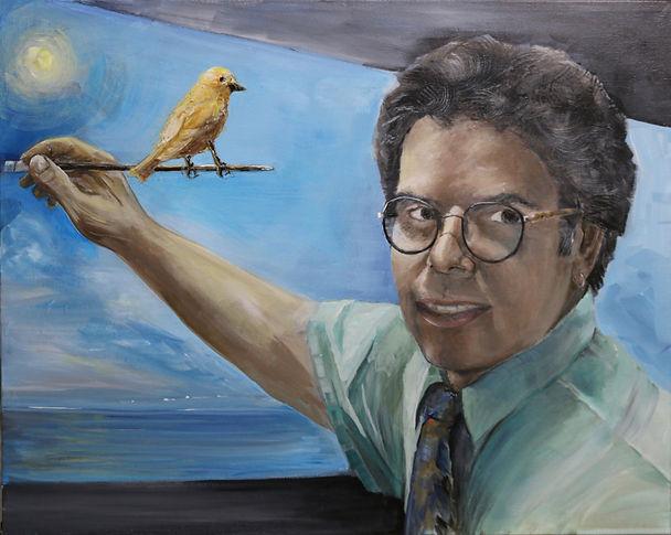 Steven Rockwell artist self portrait