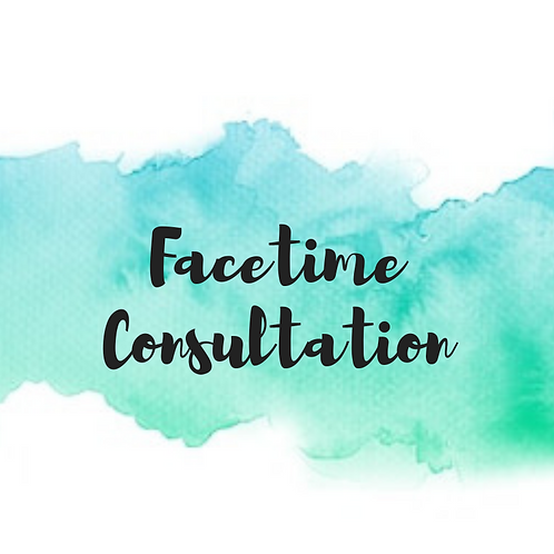 1 Hour Facetime Consultation