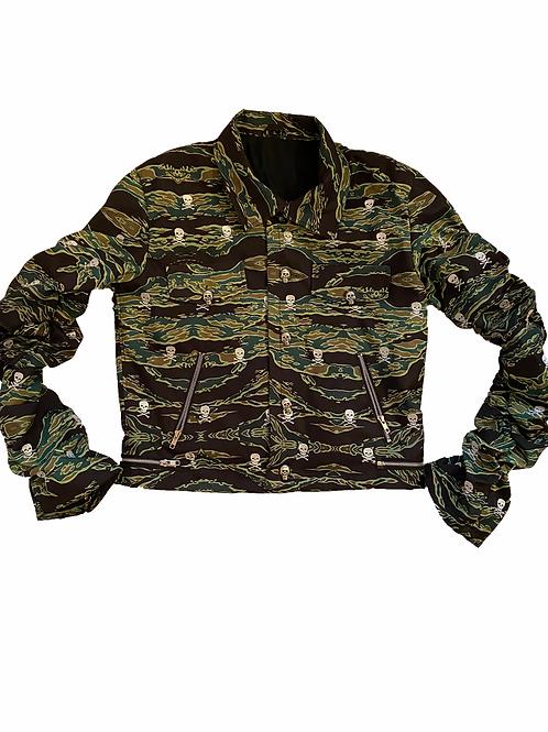 Tiger Camo Bondage Jacket