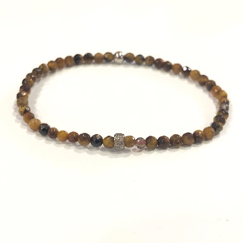 Tiger's Eye and Diamonds