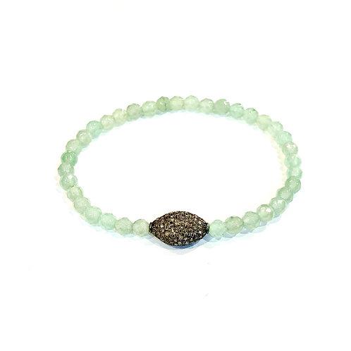Diamond  aventurine bracelet