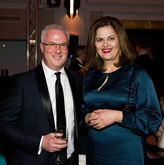 Helen Konstantopoulous and Craig Seeger.