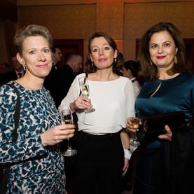 Amy Baker, Josine deWolde and Helen Kons