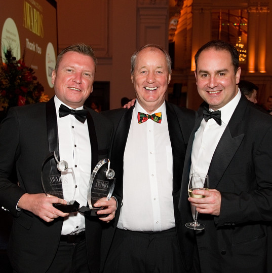 Geoff Magee, John Gwyn Jones and Leigh W
