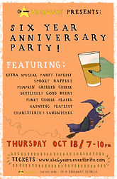 Astoria Bier & Cheese 6 Year Anniversary Party