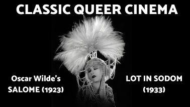 Classic Queer Cinema with Live Accompaniment