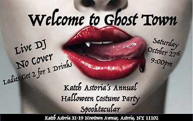 Welcome to Ghost Town: Halloween Party Spooktacular