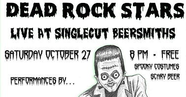 DEAD ROCKSTARS (Halloween Party) LIVE at Singlecut Beersmiths