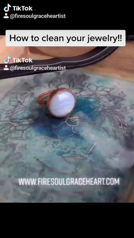 How to clean your Fire Soul Grace Heart Jewelry
