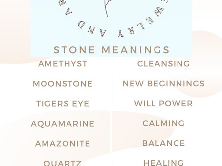 Stones Fire Soul Grace Heart offers and their Meanings
