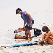Private surf lesson Balangan Beach Bali