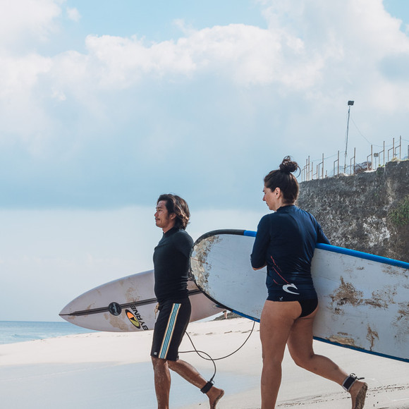 Personalised surf lessons