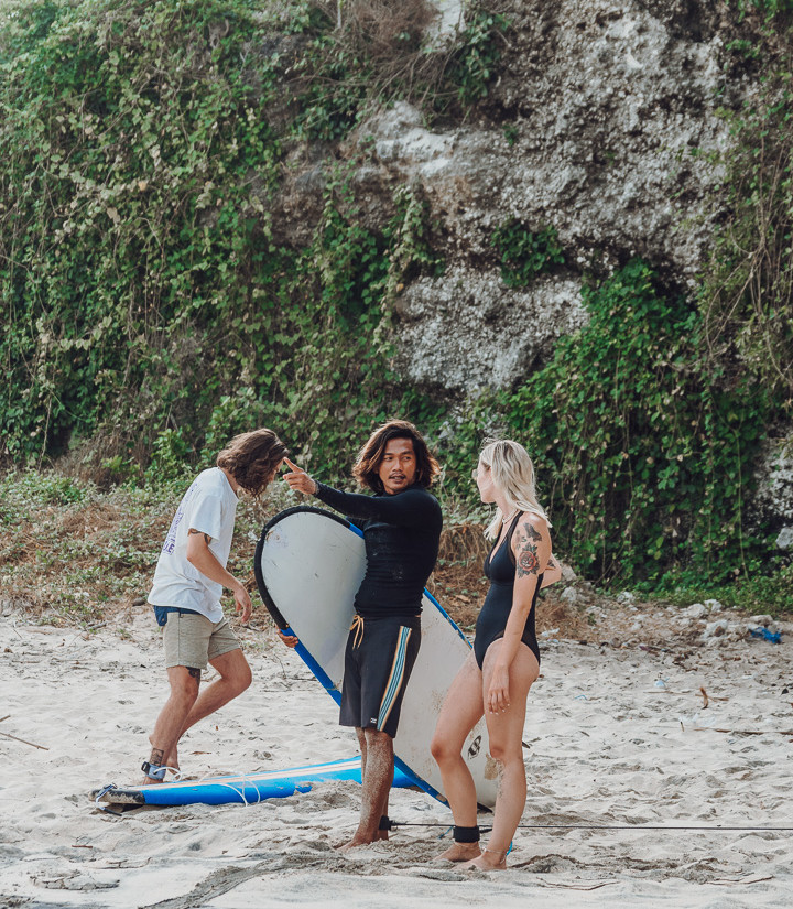 Learn to surf in Bali @charlottalouice