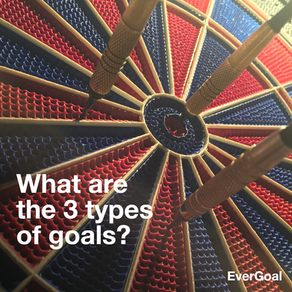 What are the 3 types of goals?