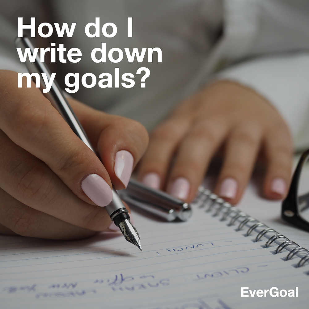 How do I write down my goals? 3 Ultimate Steps To Keeping Focus On Your Goals Effortlessly