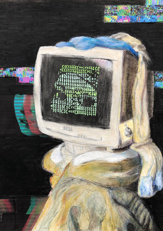 Computer with a Pearl Earring