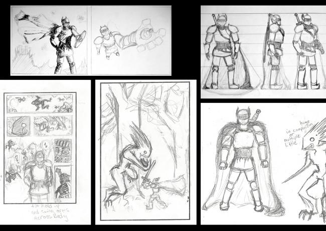 Medival Comic Concept