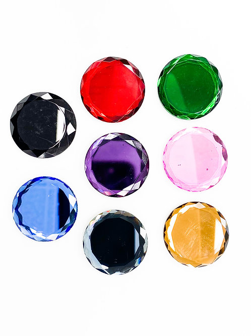 20mm Mirrors Assorted 5 Pair Pack (10pc)