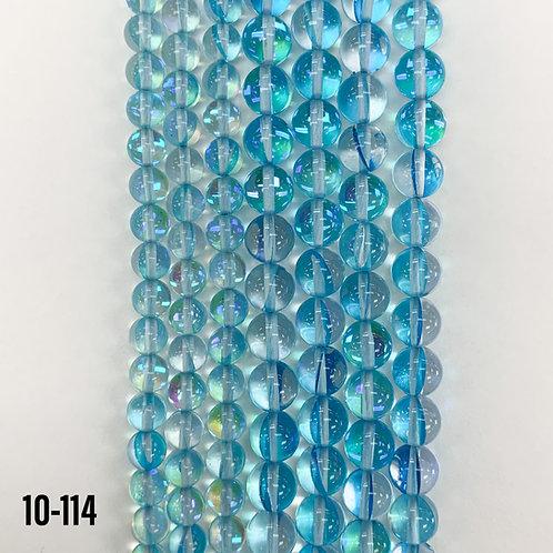 Aqua Moon Light Quartz (MM) Beads 6mm