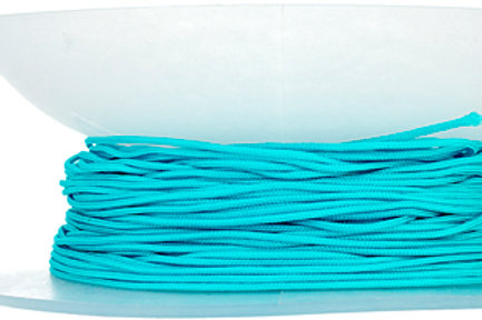 Knotting Cord 1mm 50yds Aqua Blue