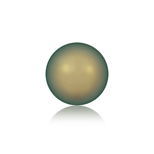 Swk Pearl 4mm Iridescent Green