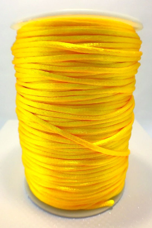 2mm Rat Tail Golden Yellow 100yd