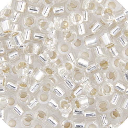 0041 DBL 8/0 RD Crystal S/L