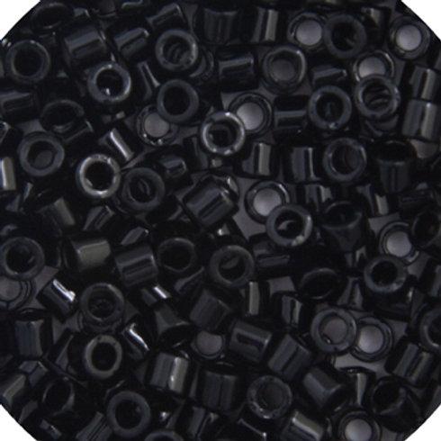 0010 DB 11/0 RD BLACK OP. 50G