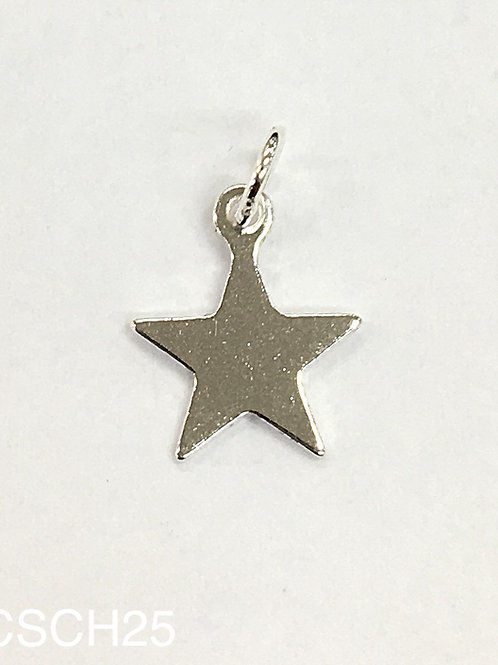 925 Shiny Star Charm