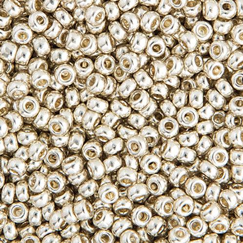 Miyuki Seed Beads 11/0 Silver GLVZD